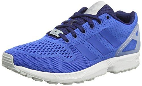 Herren Multicolore Adidas Flux Blanco azul Baskets Zx BTqfw