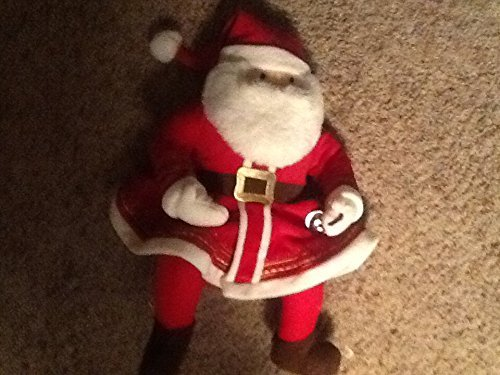 HALLMARK 18 inch Talking Polar Express Santa Plush with Silver Bell]()