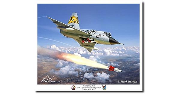 """F-106 Delta Dart Poster 13/"""" x 19/"""""""