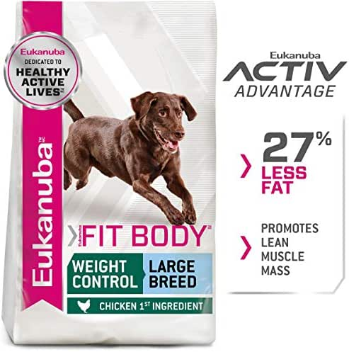 Dog Food: Eukanuba Fit Body Weight Control Large Breed