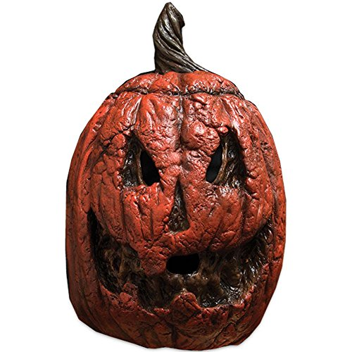 Trick or Treat Studios Rotting Pumpkin Halloween Full Head Mask, Orange ()