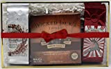 Wicked Jacks Tavern Jamaican Rum Cake with Vanilla and Peppermint Coffees Gift Set (Butter)