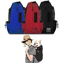 K9 Sport Sack - The Original Dog Carrier Backpack (Small, Jet Black)