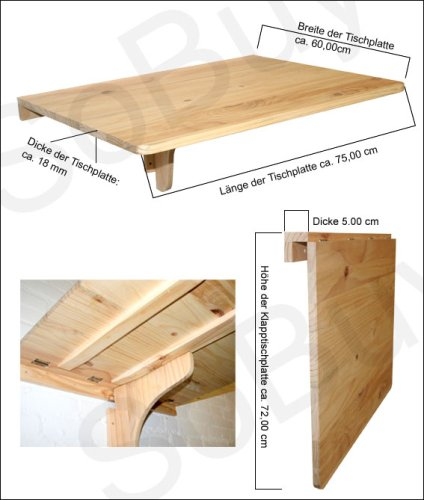Fold Down Craft Table Plans