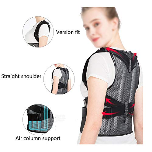 WYNZYHY Medical Belt, Lumbar Disc Lumbar Muscle Strain Male and Female Medical Posture Correction Clothing Hunchback Correction (Color : Inflatable, Size : L) by WYNZYHY (Image #3)