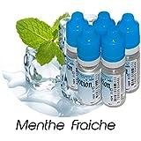 MA POTION - Lot de 5 E-Liquide Menthe Fraîche, Eliquide Français Ma Potion, recharge liquide cigarette électronique. Sans nicotine ni tabac