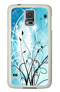Samsung S5 case silicone Abstract Vector Vines PC White Custom Samsung Galaxy S5 Case Cover