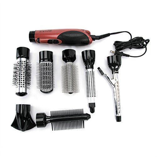 hair styling tools set coosa supreme 7 in 1 multifunction hair dryer set 5819