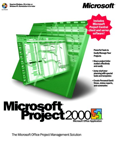 Microsoft Project 2000 [OLD VERSION] by Microsoft