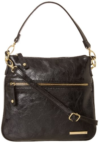 Kenneth Cole Reaction Double Trouble K07603 Cross Body Bag,Black,One Size, Bags Central