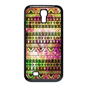 C-EUR Customized Aztec Tribal Pattern Protective Case Cover for Samsung Galaxy S4 I9500