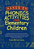 img - for Hands-On Phonics Activities for Elementary Children by Karen Meyers Stangl (1999-11-10) book / textbook / text book