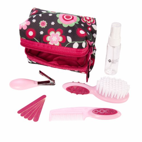 (Safety 1st Baby's 1st Grooming Kit, Raspberry)