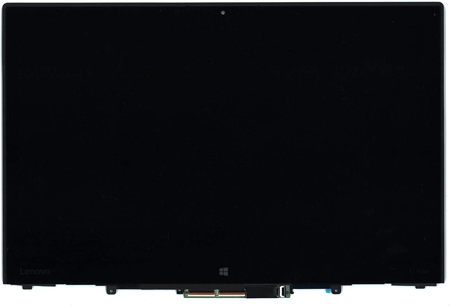 """14"""" WQHD 2560x1440 LCD Panel IPS LED Touch Screen Display with Touch Control Board and Bezel Frame Assembly Fit Lenovo Thinkpad X1 Yoga 1st Generation FRU: 00UR190 00UR191 00UR192"""
