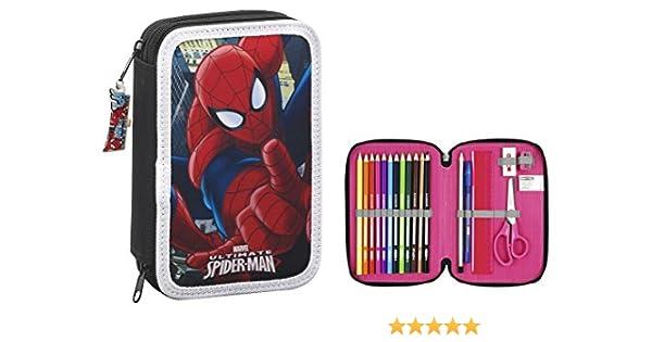 Spiderman- Estuche, ampUacutenica (SAFTA 411512054): Amazon.es: Juguetes y juegos