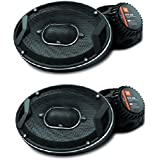 "JBL GTO939 GTO Series 600 Watts 6"" x 9"" 3-Way Coaxial Car Audio Speakers 6""x9"" (2Pairs)"