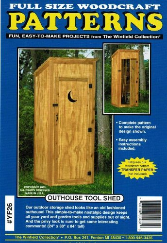 Outhouse Tool Shed Wood Project Plan