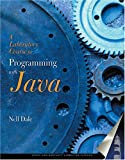 A Laboratory Course for Programming with Java, Dale, Nell, 0763724637