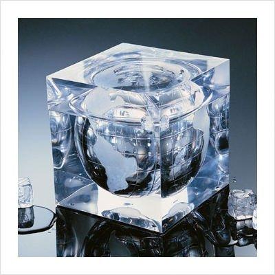 - Grainware Luxury Planet Earth Ice Bucket, 7 x 7 x 7 inch - 1 each.