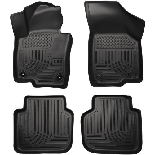 Husky Liners 98681 WeatherBeater Combination Front & Back Seat Floor Liner - (3