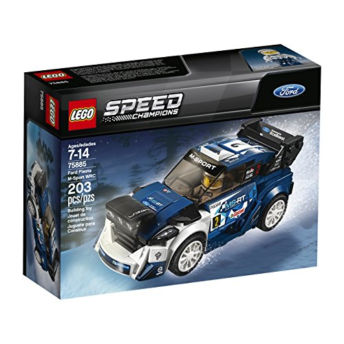 LEGO Speed Champions Ford Fiesta M-Sport WRC 75885 Building Kit (203 Pieces) (Discontinued by Manufacturer)