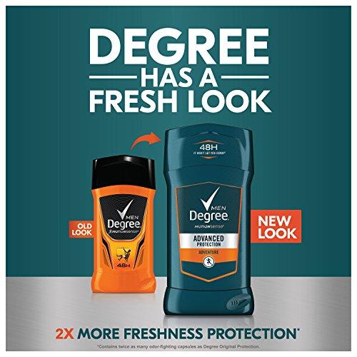 Degree Men Antiperspirant and Deodorant, Everest 2.7 oz, Twin Pack 3