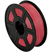 CC DIY - PLA+ 3D Printer Filament 1.75mm 1kg Spool Dimensional Accuracy +/- 0.02 mm (Red)