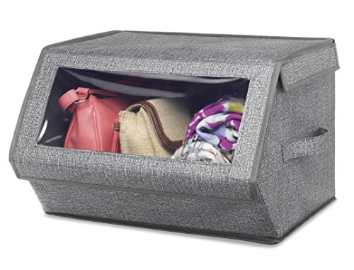 Whitmor Stackable Window Storage Box