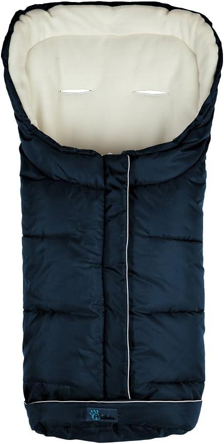Saco de invierno para silla de coche 0-12 meses Altabebe AL2203XL-11 color azul marino