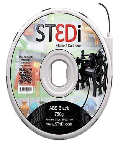 St3Di 946422 - Filamento, Color Negro ST-6011-00