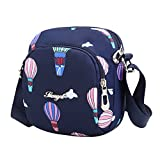 Eilova Cell Phone Purse Nylon Travel Bag Crossbody Shoulder Bag for Women Girls