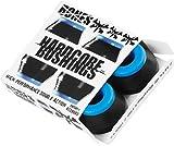 Bones Wheels Hardcore Black / Blue Skateboard Bushings - Includes 4 Pieces - Soft