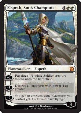 Magic the Gathering - Elspeth, Sun's Champion (9/429) Theros Set (Elspeths Suns Champion)