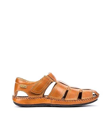 a79f43db7 Pikolinos Tarifa 06J-1 06J-5433_V13 - Sandalias de Cuero para Hombre:  Amazon.es: Zapatos y complementos