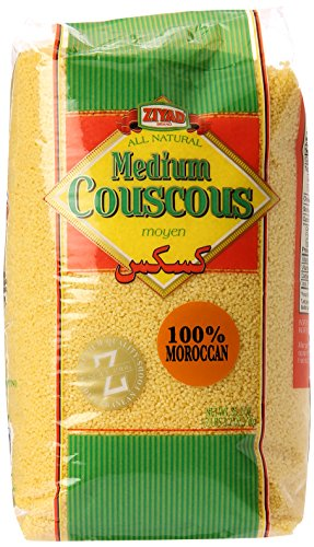 Ziyad Couscous Maftoul, Medium, 1000 Gram (Pack of 12) by Ziyad