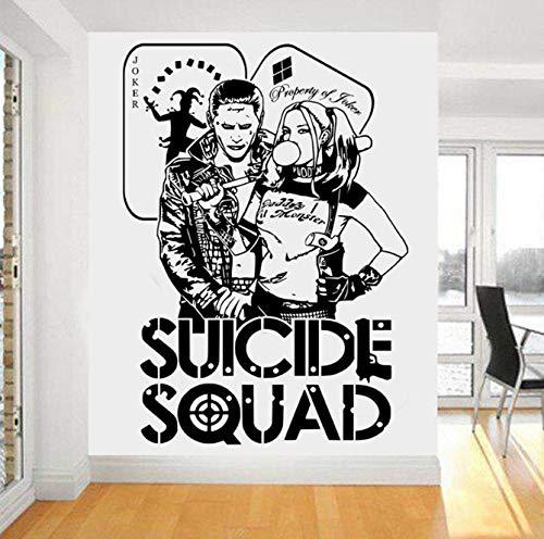 xingzhi Cotizaciones Suicide Squad Tatuajes De Pared Harley ...