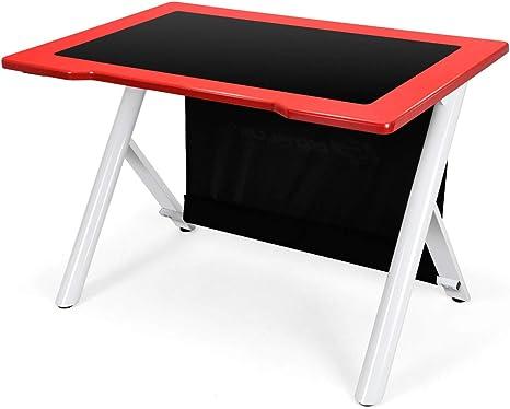 Mesa de escritorio Giantex para videojuegos, con superficie ...