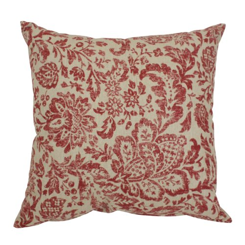 Pillow Perfect Damask Decorative 18 Inch