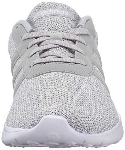 the latest ae8b7 726a8 adidas NEO Women s Lite Racer w Running Shoe, Clear Onix Light Onix White,  9 M US