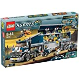LEGO - 8635 - Jeu de construction - Agents - Mission 6: Centre de commandement mobile