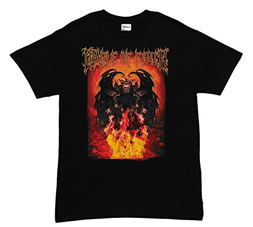 Cradle Of Filth Fire Power Metal Rock Band Adult T-Shirt Tee