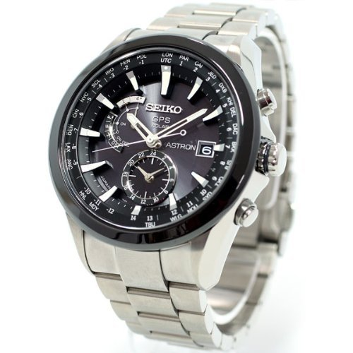 5a965f3d91f4 Seiko Astron GPS Solar Stainless Steel Watch  Amazon.es  Relojes