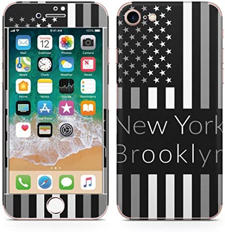 igsticker iPhone SE 2020 iPhone8 iPhone7 専用 スキンシール 全面スキンシール フル 背面 側面 正面 液晶 ステッカー 保護シール 010385 外国 国旗 英語