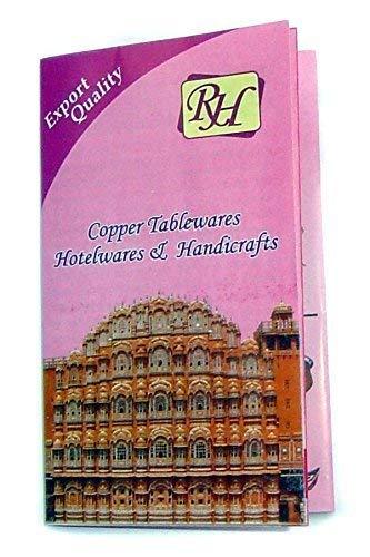 blue Rastogi Handicrafts New Creation Copper water Bottle for Ayurveda Heath Benefit Hand Hammered Tumbler RH-m100748