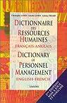 Dictionnaire des ressources humaines français-anglais, 2e édition par James