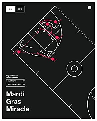 Kentucky 1994 Poster: Mardi Gras Miracle (16x20)