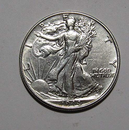 1940-1945 U.S. Walking Liberty Silver Half Dollar Coin Half Dollar About Uncirculated ()