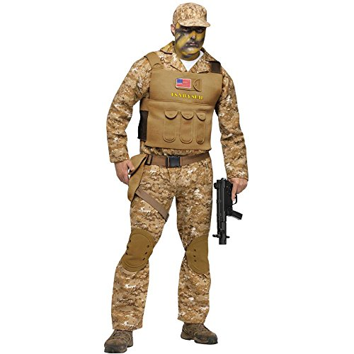 Navy Seal Adult Costume - One Size