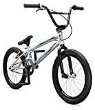"""Best Mongoose Bike Cables - Mongoose Title Pro XXL 20"""" Boy's Bicycle, Silver Review"""