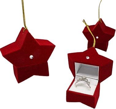 Caja de regalo de Navidad con 5 puntos, caja de regalo de Navidad ...